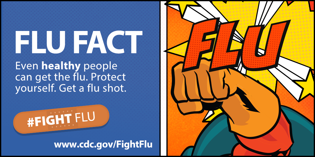 fight flu fact healthy