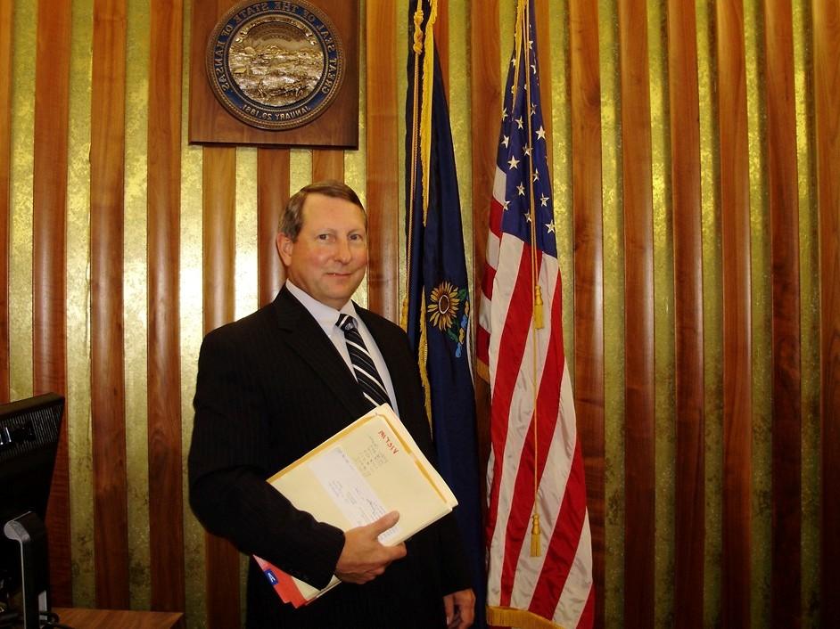 David Yoder, Harvey County Attorney